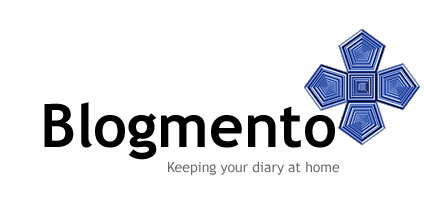 blogmento - keeping your diary at home